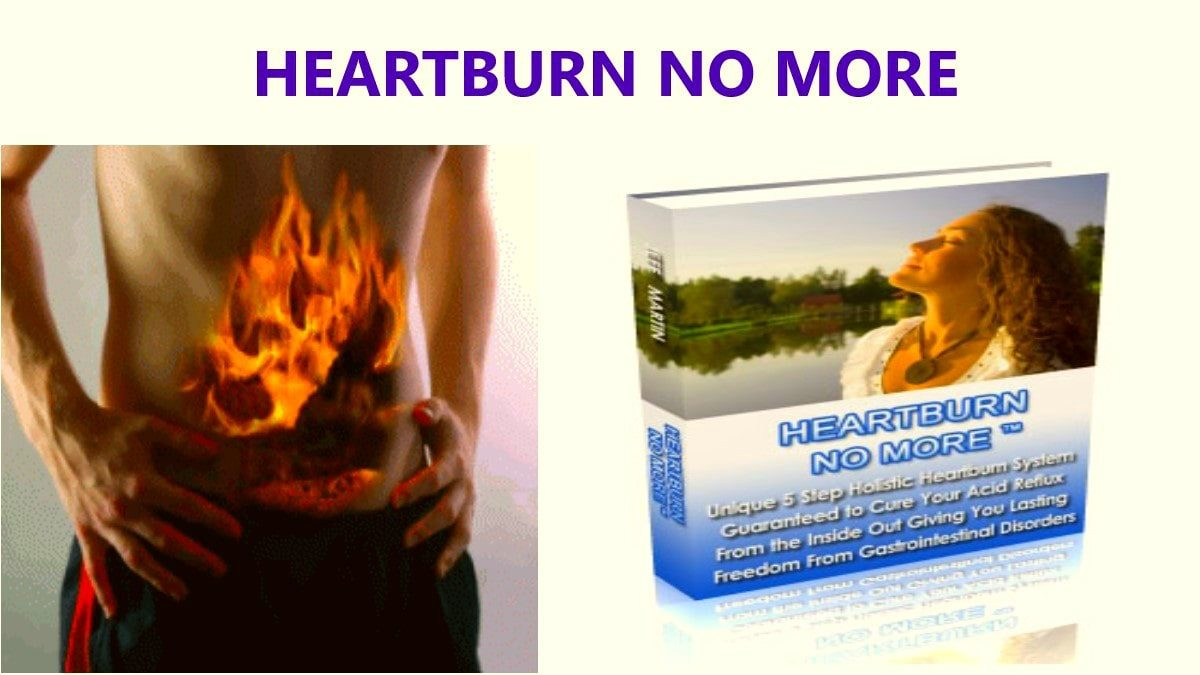 Heartburn No More Review-min