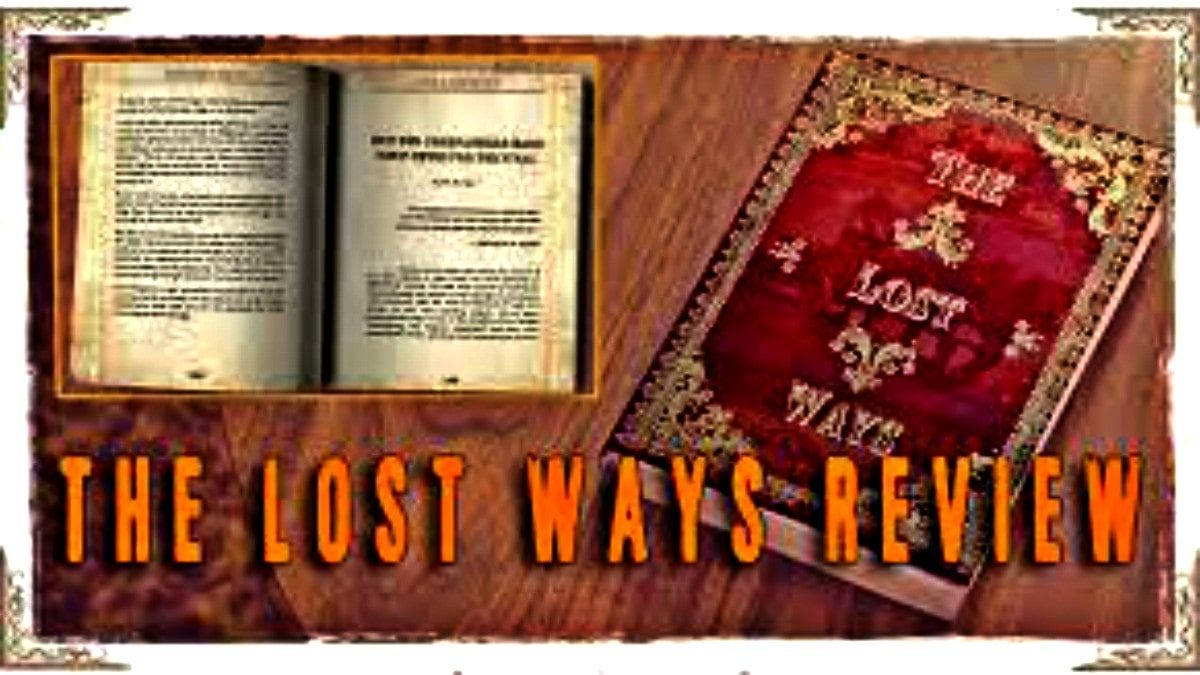 The lost Ways Books Download